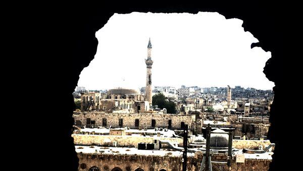 Старый город Алеппо. Архив