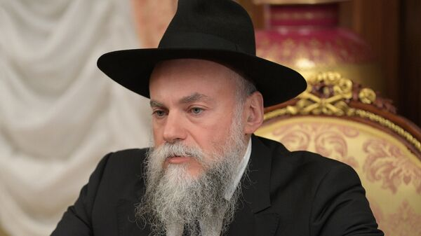 Глава Федерации еврейских общин Александр Борода