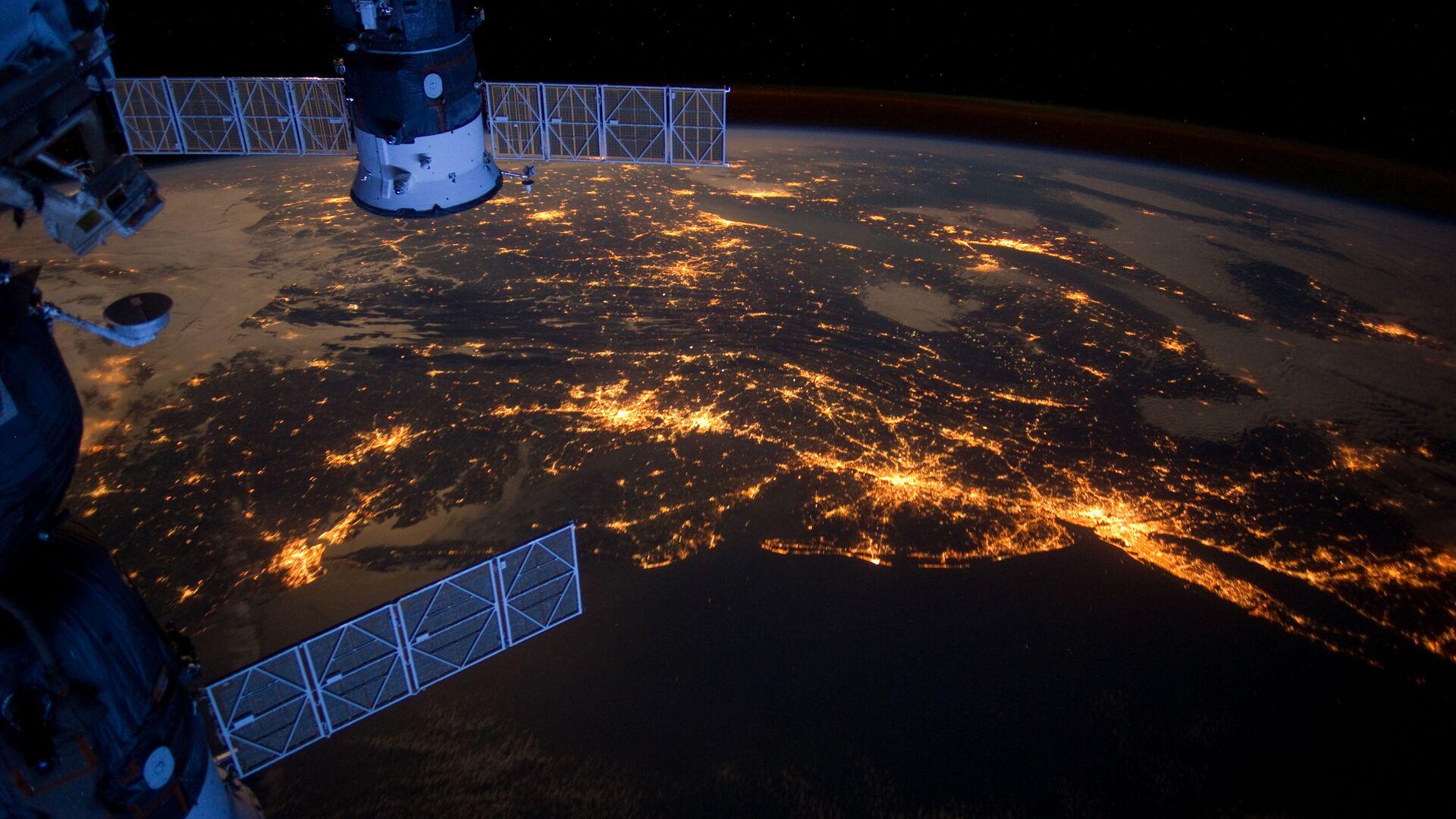 Вид с МКС на Землю - РИА Новости, 1920, 02.12.2020
