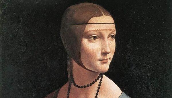 Леонардо да Винчи, Дама с горностаем. Архивное фото
