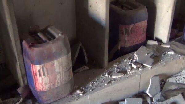 Склад химоружия в Алеппо