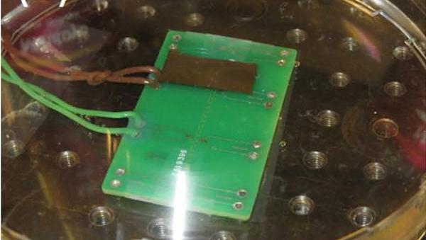 Устройство для измерения силы взрывов нанопузырьков водорода