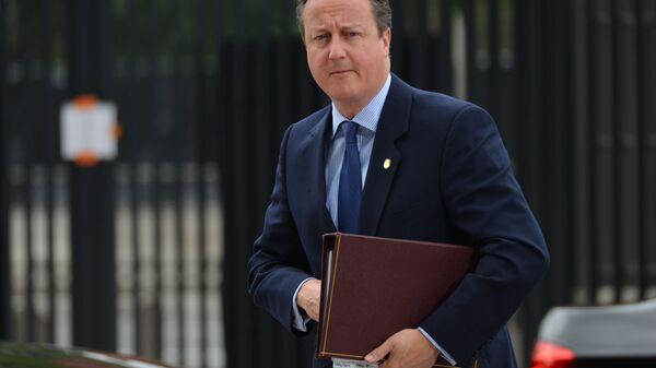 Экс-премьер Великобритании Дэвид Кэмерон