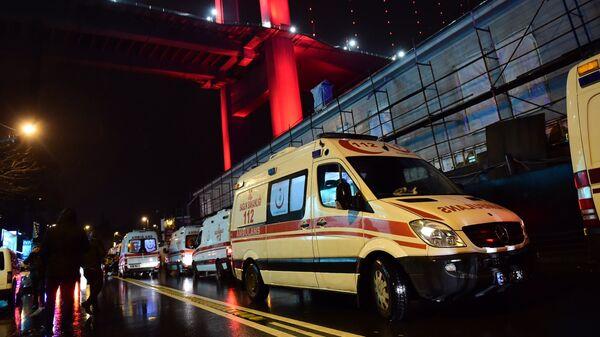 Машины скорой помощи в Стамбуле