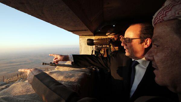 Визит президента Франции Франсуа Олланда в Ирак