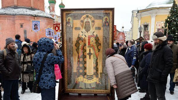 Крестный ход памяти святителя Петра в Москве