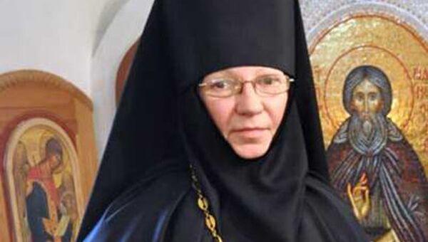 Настоятельница Cвято-Ксениевского монастыря матушка Василисса. Архивное фото