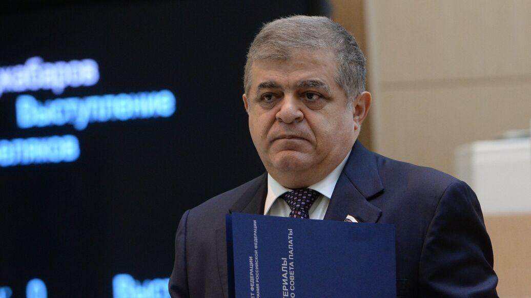 Резолюция ЕП по новым санкциям не имеет юридической силы, заявил Джабаров