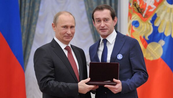 Президент России Владимир Путин на церемонии вручения государственных наград в Кремле