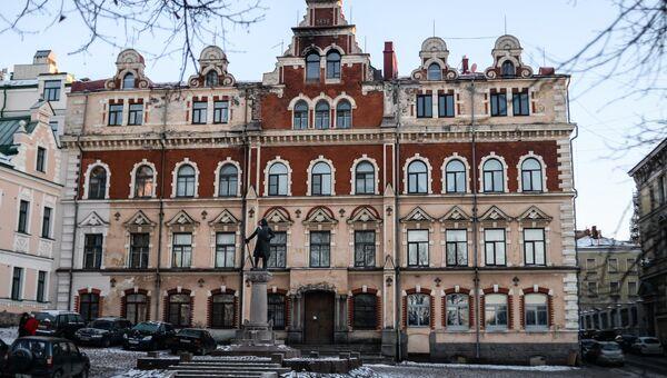 Ратуша города Выборг. Архив