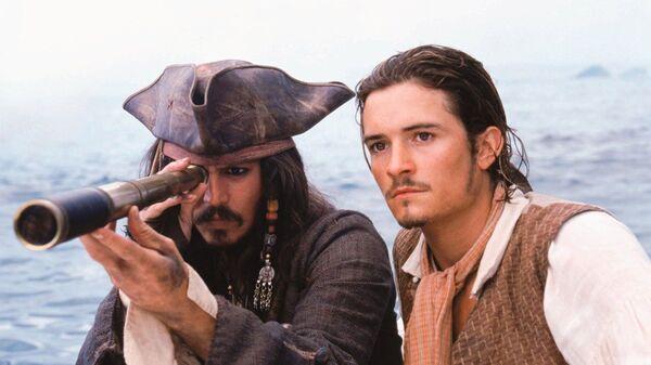 Кадр из фильма Пираты Карибского моря: Проклятие Черной жемчужины