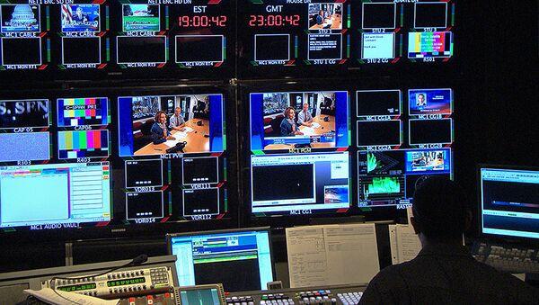 Аппаратная студия телеканала C-SPAN