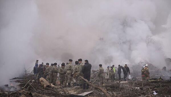 Крушение грузового Boeing 747 авиакомпании Turkish Airlines под Бишкеком