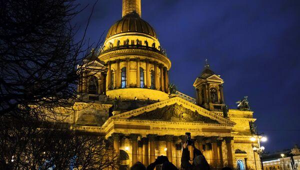 Исаакиевский собор в Санкт-Петербурге. Архивное фото