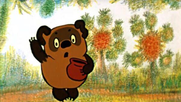 Кадр из мультфильма Винни Пух (1969)
