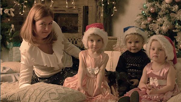 Дети Светланы Дель. Архивное фото