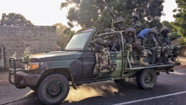 Войска Сенегала вторглись в Гамбию