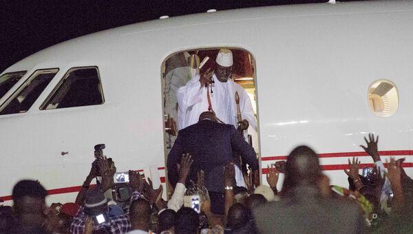 Экс-президент Гамбии Яйя Джамме. Архивное фото