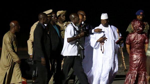 Бывший президент Гамбии Яйя Джамме покинул страну, 21 января 2017