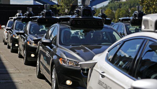 Беспилотные автомобили Uber. Архивное фото