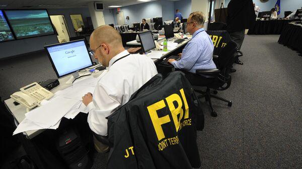 Сотрудники ФБР. Архивное фото
