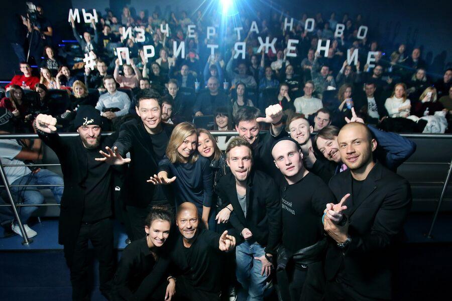 Кадр из фильма Притяжение, реж. Ф.Бондарчук