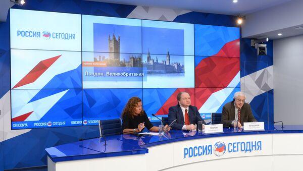 Видеомост Москва–Лондон на тему: Жесткий Brexit и новый американский президент. Европа и мир на пороге перемен? в МИА Россия сегодня