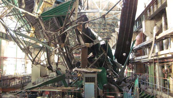 На Пензенской ТЭЦ-1 произошло частичное обрушение крыши в машинном зале