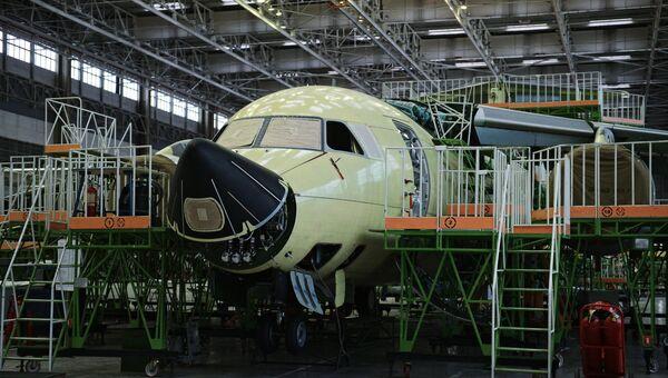Фюзеляж самолета Ил-112В. Архивное фото