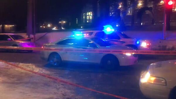 Первые кадры с места стрельбы в Канаде, где неизвестные напали на прихожан мечети