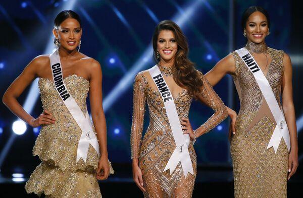 Тройка финалистов конкурса Мисс Вселенная