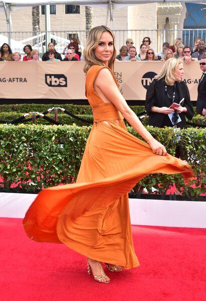 Телеведущая Келти Найт на церемонии вручения премии Гильдии киноактеров США в Лос-Анджелесе