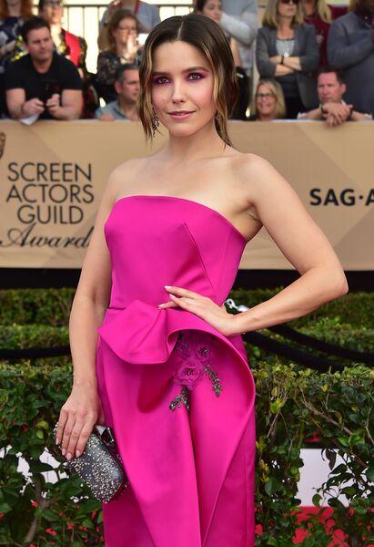 Актриса София Буш на церемонии вручения премии Гильдии киноактеров США в Лос-Анджелесе