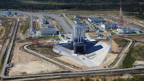 Строительство космодрома Восточный в Благовещенске