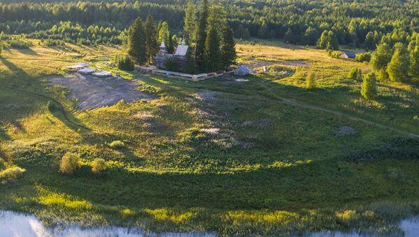 Кенозерский национальный парк. Порженский погост