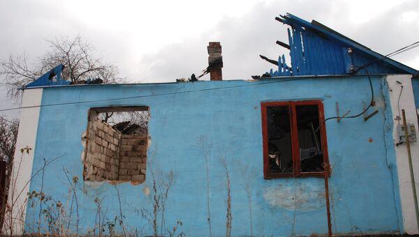 Ситуация после обстрелов в Коминтерново Донецкой области