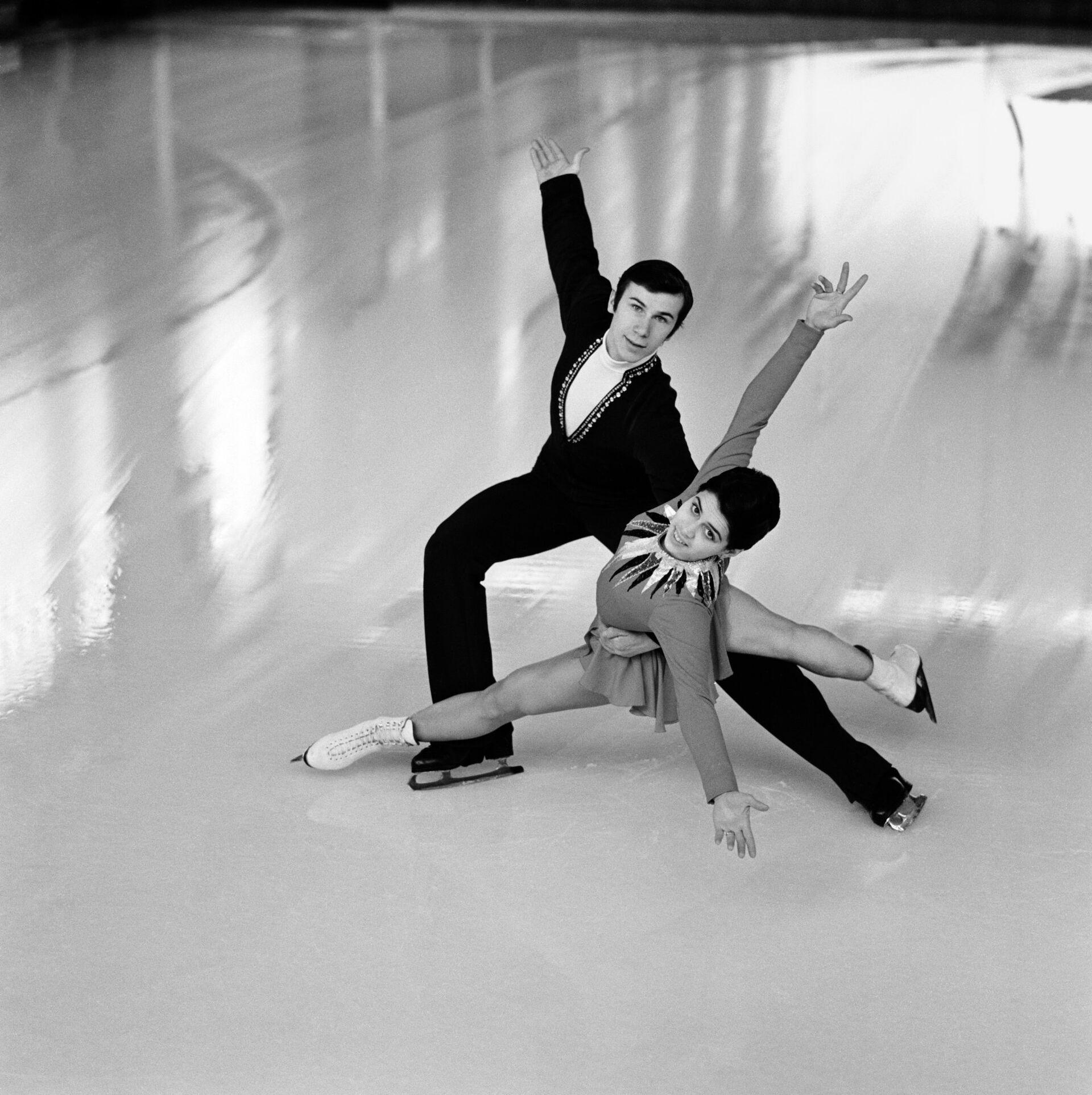 Ирина Роднина и Александр Зайцев. Архивное фото - РИА Новости, 1920, 24.05.2021