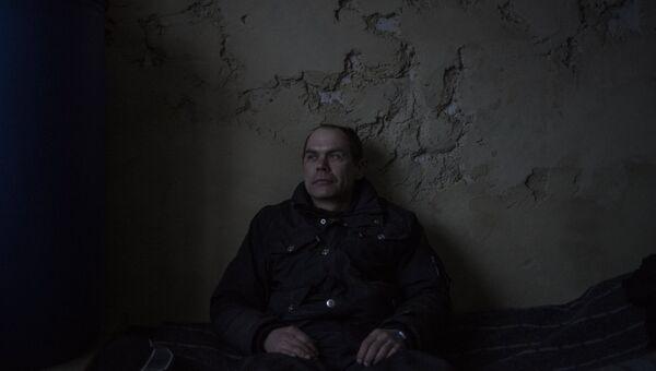 Мужчина в квартире жилого дома в Киевском районе Донецка