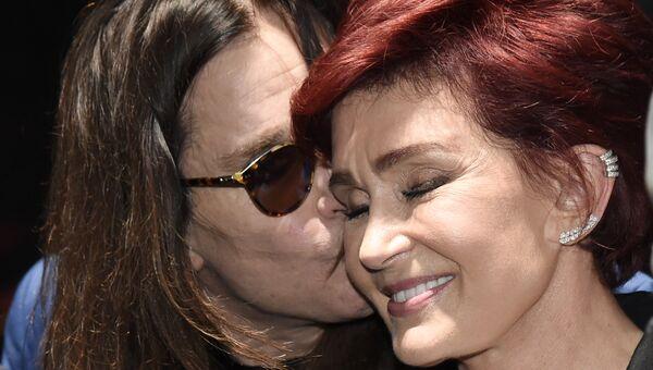 Оззи Осборн с супругой Шэрон. Архивное фото