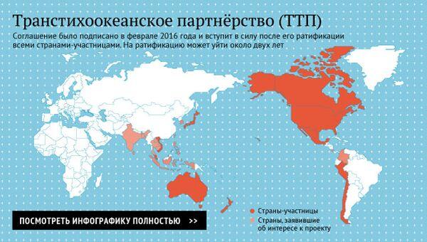 Транстихоокеанское партнёрство (ТТП)