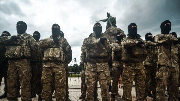 Новобранцы батальона Азов
