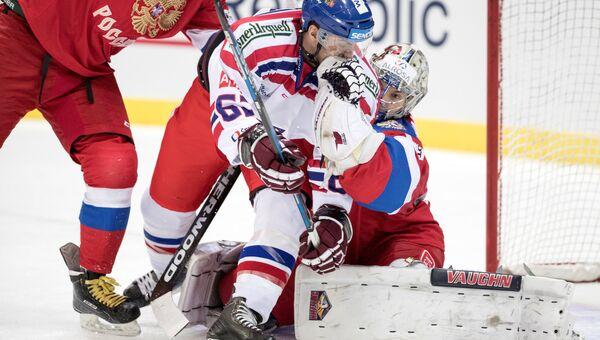 Хоккеисты сборной России переиграли команду Чехии в матче третьего тура шведского этапа Евротура