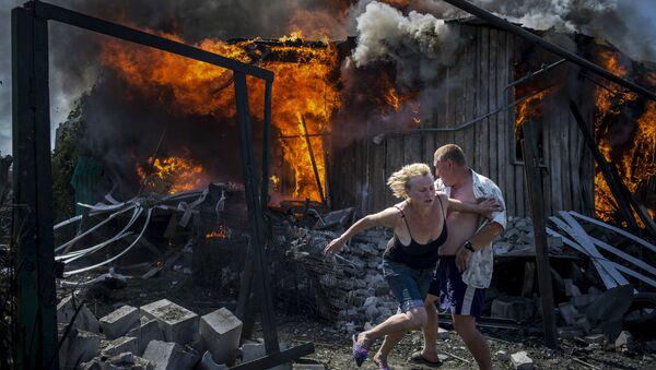 Черные дни Украины фотографа Валерия Мельникова занявшего первое место в категории Долгосрочные проекты в фотоконкурсе World Press Photo