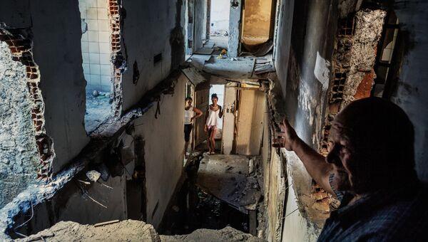 Copacabana Palace фотографа Peter Bauza занявшее третье место в категории Проблемы современности в фотоконкурсе World Press Photo