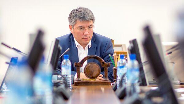Глава Республики Бурятия Алексей Цыденов