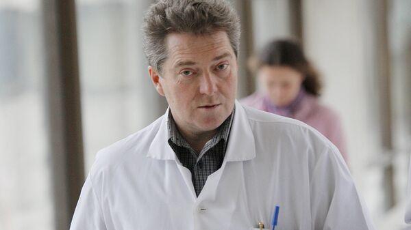 Замдиректора НИИ детской онкологии и гематологии онкоцентра Георгий Менткевич