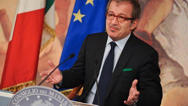 Губернатор северной итальянской области Ломбардия Роберто Марони призвал к отмене антироссийских санкций