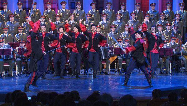 Ансамбль Александрова выступил в новом составе впервые после катастрофы Ту-154