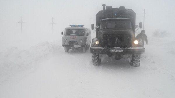 Автомобили МЧС Казахстана