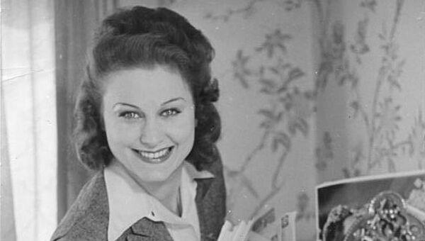 Немецкая киноактриса Марика Рекк. Архивное фото